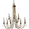 Aura 2-Tier Chandelier by Murray Feiss