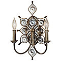 Leila 2-Light Wall Sconce by Murray Feiss