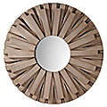 Weathered Discus Mirror by Murray Feiss