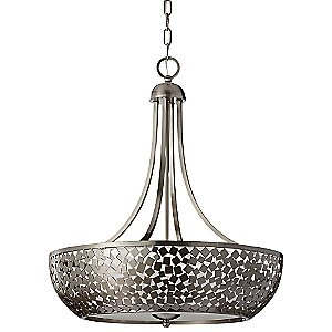 Zara F2745/4 Chandelier by Murray Feiss