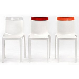 Hi Cut Chair (Set of 2) by Kartell