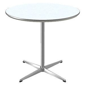Circular Pedestal Base Table by Fritz Hansen