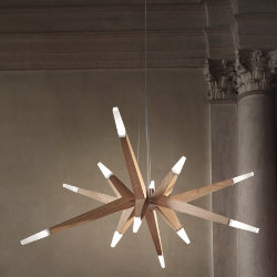 Flashwood Pendant by Masiero