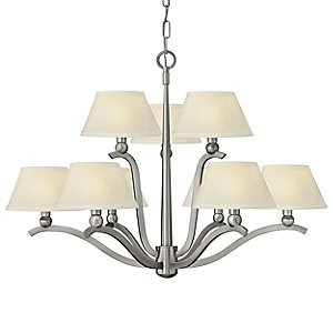 Whitney 2-Tier Chandelier by Hinkley Lighting