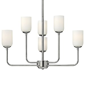 Harlow 6-Light Chandelier by Hinkley Lighting