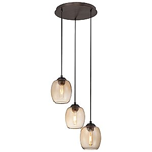 Bubble Multi-Light Pendant by George Kovacs