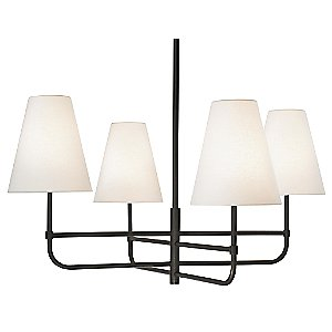 Bistro 4-Light Chandelier by Sonneman