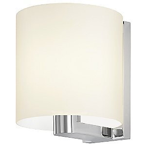 Delano Wide Wall Sconce by Sonneman