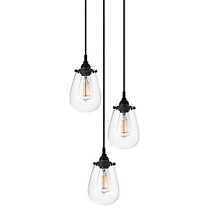 Chelsea 3-Light Pendant by Sonneman
