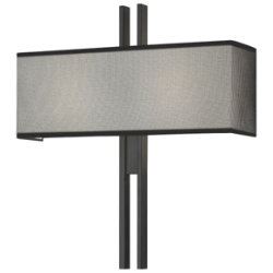 Tandem Wide Wall Sconce by Sonneman
