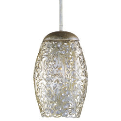 Arabesque Mini Pendant by Maxim Lighting