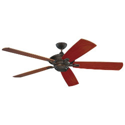 Cyclone Outdoor Ceiling Fan by Monte Carlo