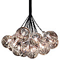 Orb 19-Light Cluster Pendant by Sonneman