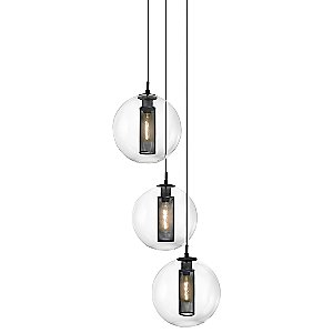 Tribeca Multi-Light Pendant by Sonneman