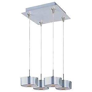Percussion Square Multi-Light Pendant by ET2