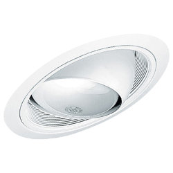 Standard Slope Eyeball in Baffle Trim by Juno Lighting