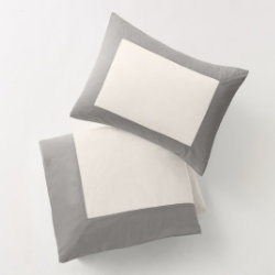 Modern Border Duvet Set by DwellStudio