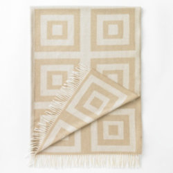 Concentric Squares Throw by DwellStudio