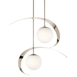 Escala 2-Light Pendant by Kichler