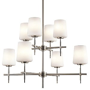 Arvella 2-Tier Chandelier by Kichler