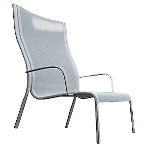 Paso Doble Outdoor Low Chair/High Back Set of 2 by Magis - OPEN BOX RETURN