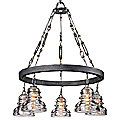 Menlo Park Chandelier by Troy Lighting