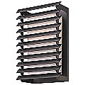 Shutters Outdoor Wall Sconce by Troy Lighting