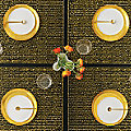 Gilt Rectangular Tablemat by Chilewich