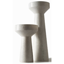 Stone Candle Holder by Tom Dixon