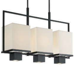Metro 3-Light Linear Suspension by Sonneman - OPEN BOX RETURN