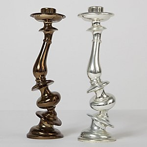 Distortion Candlestick Set of 2 by Paul Loebach for Areaware