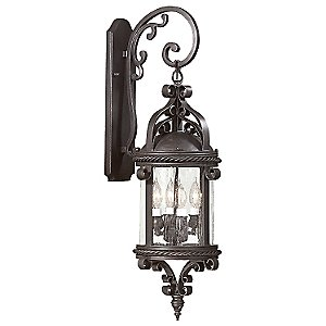 Pamplona Outdoor Wall Sconce by Troy Lighting (Large) - OPEN BOX RETURN