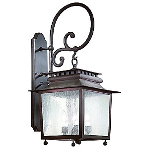 St. Germaine Outdoor Wall Sconce No. 898 by Troy Lighting - OPEN BOX RETURN