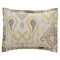 Batavia Standard Sham Pair (Citrine) by DwellStudio- OPEN BOX RETURN
