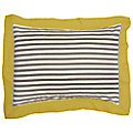 Draper Stripe Pillow Sham Pair (Ash) - OPEN BOX RETURN