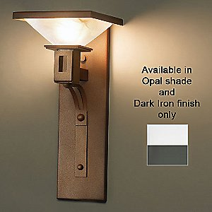 Candeo 07116 Wall Sconce by Ultralights (Dark Iron) - OPEN BOX RETURN