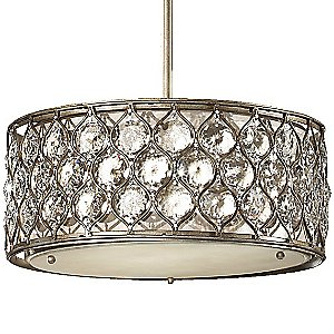 Lucia Drum Pendant by Murray Feiss - OPEN BOX RETURN