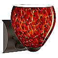 Bolla Wall Sconce by Besa Lighting (Garnet) - OPEN BOX RETURN