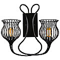 Encaged Two Light Wall Sconce by Varaluz