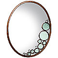 Fascination Oval Mirror by Varaluz