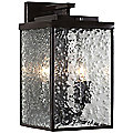Mission You Medium Outdoor Wall Sconce by Varaluz