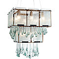 Rain 2-Tier Chandelier by Varaluz