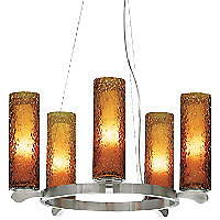 Rock Candy 5-Light Chandelier by LBL Lighting