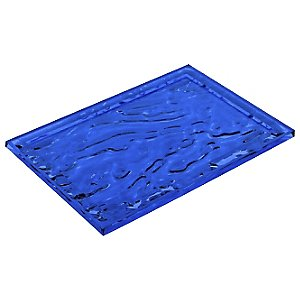 Dune Tray by Kartell (Blue/Large) - OPEN BOX RETURN