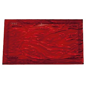 Dune Tray by Kartell (Red/Small) - OPEN BOX RETURN