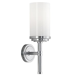 Halo Wall Sconce by Robert Abbey (Chrome) - OPEN BOX RETURN