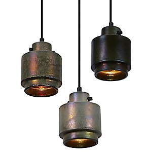 Lustre Round Pendant by Tom Dixon