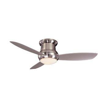 Concept II Wet 52 in. Flush Ceiling Fan (Nickel) - OPEN BOX