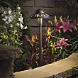 Landscape LED Pierced Dome Path Light by Kichler