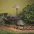 Landscape LED Decorative Hammered Roof Path Light by Kichler